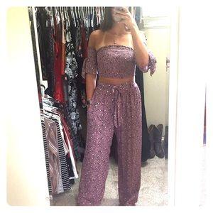 🌺Summer festive pants outfit 💋
